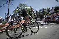 Paulien Rooijakkers (NED/WaowDeals Pro Cycling team), Mur de Huy<br /> 21st La Fl&egrave;che Wallonne Femmes <br /> 1 day race: Huy - Huy (118,5KM)