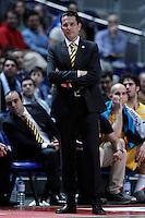 Herbalife Gran Canaria's coach Pedro Martinez during Liga Endesa ACB match.December 19,2012. (ALTERPHOTOS/Acero) /NortePhoto