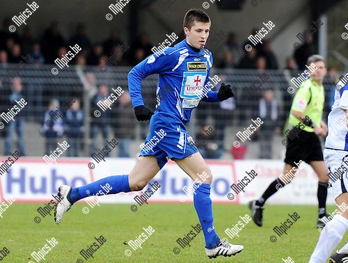 2011-01-23 / Seizoen 2010-2011 / Voetbal / KV Turnhout / Mantas Kuklys..Foto: mpics