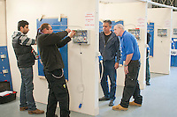 Student electricians, Able Skills, Dartford, Kent.