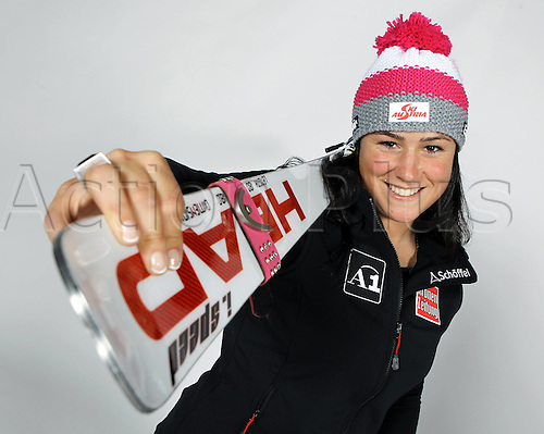 16.10.2010  Winter sports OSV Einkleidung Innsbruck Austria. Ski Alpine OSV Austrian Ski Federation. Picture shows Margret Alta Cher AUT