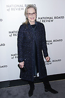 NEW YORK, NY - JANUARY 9: Meryl Streep at The National Board of Review Annual Awards Gala at Cipriani 42nd Street on January 9, 2017 in New York City. <br /> CAP/MPI99<br /> &copy;MPI99/Capital Pictures