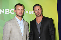 BEVERLY HILLS, CA - JULY 24: Jesse Spencer and Taylor Kinney at the 2012 NBC Universal TCA summer press tour at The Beverly Hilton Hotel on July 24, 2012 in Beverly Hills, California. Credit: mpi25/MediaPunch Inc. /NortePhoto.com<br />