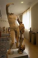 Spanien, Katalonien, Museum der Stadtgeschichte in  in Tarragona, römischer Torso