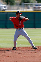 Andrew Romine - Los Angeles Angels - 2009 spring training.Photo by:  Bill Mitchell/Four Seam Images
