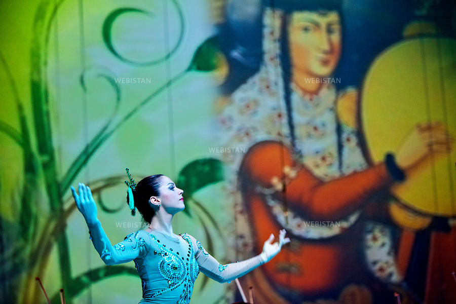 Azerbaijan, Baku, Heydar Aliyev Palace, March 21, 2011<br />