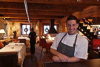 Amérique/Amérique du Nord/Canada/Québec/ Québec: Guillaume Saint-Pierre -Restaurant: Panache à l'Auberge Saint-Antoine