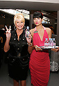 Evian model and Ivanka Trump at the NY Fashion Week at Bryant Park on Sept 09,2008.(Soul Brother For Evian)