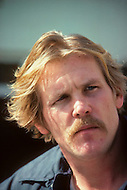 "Los Angeles, California - May 1979. Picture taken of Nick Nolte at his home as he prepares for his role as Neal Cassady in ""Heartbeat"". Nick Nolte (b. February 8, 1941) is an American Actor, who gained attention for his performance in Rich Man, Poor Man, in 1976, and who is now best known for his role in The Prince of Tides, where he won a Golden Globe Award."