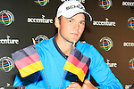 Martin Kaymer (GER) in the interview room at the end of  Day 3 of the Accenture Match Play Championship from The Ritz-Carlton Golf Club, Dove Mountain, Friday 25th February 2011. (Photo Eoin Clarke/golffile.ie)