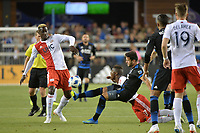 San Jose, CA - Wednesday June 13, 2018: Vako during a Major League Soccer (MLS) match between the San Jose Earthquakes and the New England Revolution at Avaya Stadium.