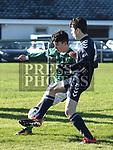 Duleek  Altay Guneyer Ardee Aaron Kearney. Photo:Colin Bell/pressphotos.ie