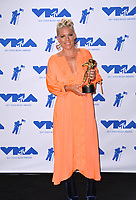 Pink in the press room for the 2017 MTV Video Music Awards at The &quot;Fabulous&quot; Forum, Los Angeles, USA 27 Aug. 2017<br /> Picture: Paul Smith/Featureflash/SilverHub 0208 004 5359 sales@silverhubmedia.com
