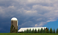 Wisonconsin farmland near  Milwaukee, WI, Sunday, June 26, 2011.  (Photo by Brian Cleary/www.bcpix.com)