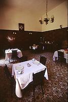 SIRIA Aleppo ,Hotel Baron, il ristorante