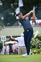 Dustin Johnson (USA) watches his tee shot on 12 during Rd4 of the 2019 BMW Championship, Medinah Golf Club, Chicago, Illinois, USA. 8/18/2019.<br /> Picture Ken Murray / Golffile.ie<br /> <br /> All photo usage must carry mandatory copyright credit (© Golffile | Ken Murray)