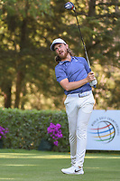 Tommy Fleetwood (ENG) watches his tee shot on 8 during round 1 of the World Golf Championships, Mexico, Club De Golf Chapultepec, Mexico City, Mexico. 2/21/2019.<br /> Picture: Golffile | Ken Murray<br /> <br /> <br /> All photo usage must carry mandatory copyright credit (© Golffile | Ken Murray)