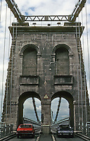 Technology: Thomas Telford Menai Road Bridge, 1818-1826. Photo '90.