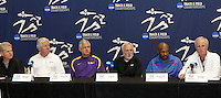 2011 NCAA Indoor Track and Field press conference held on Wednesday, March 10, 2011. pHOTO BY Errol Anderson