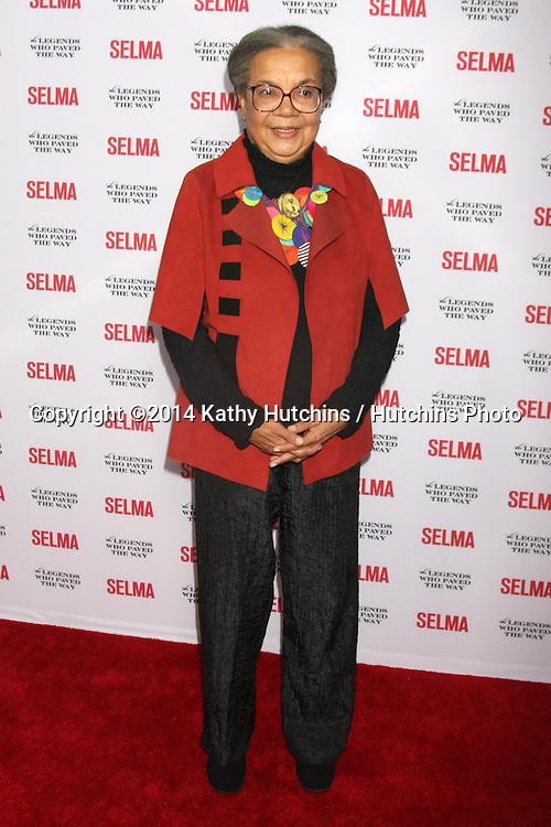 "SANTA BARBARA - DEC 6:  Marian Wright Edleman at the ""Selma"" & Legends Who Paved the Way Gala at the Bacara Resort & Spa on December 6, 2014 in Goleta, CA"