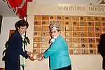 September 2, 2010: Daughters of the Nile foundation hands over a million dollar check to the Shriners Children Hospital in Los Angeles, California..Photo by Nina Prommer/Milestone Photo
