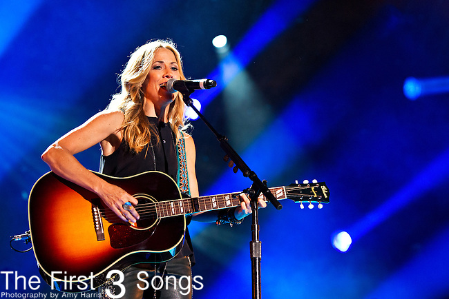 Sheryl Crow performs at LP Field during Day 2 of the 2013 CMA Music Festival in Nashville, Tennessee.