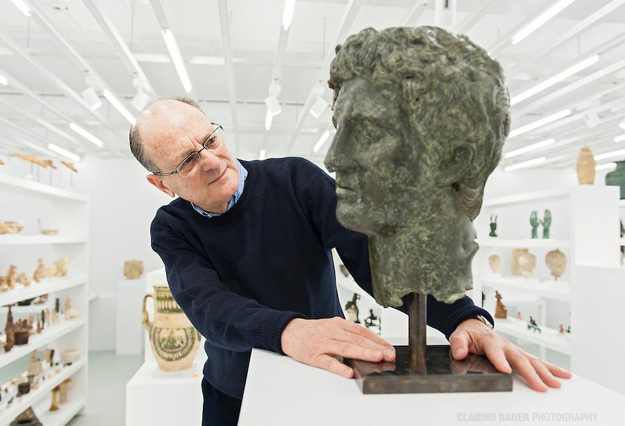 Fondation Gandur, Jean Claude Gandur, Art collector, Egyptian ancient art