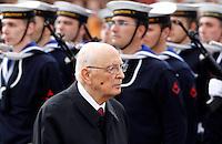 20130422 ROMA-POLITICA: NAPOLITANO ALL'ALTARE DELLA PATRIA
