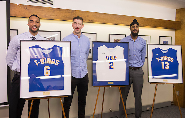 VANCOUVER,BC:JANUARY 5, 2017 -- UBC Thunderbirds University of Northern BC Timberwolves during U Sports Canada West action at UBC in Vancouver, BC, February, 5, 2017. (Rich Lam/UBC Athletics Photo) <br /> <br /> ***MANDATORY CREDIT***