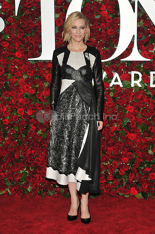 NEW YORK, NY - JUNE 12: Cate Blanchett at the 70th Annual Tony Awards at The Beacon Theatre on June 12, 2016 in New York City. Credit: John Palmer/MediaPunch