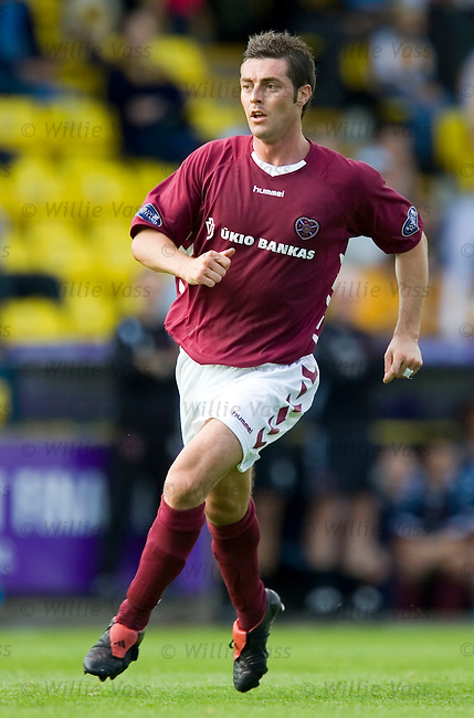 Jamie McAllister, Hearts.stock season 2005-2006.pic willie vass