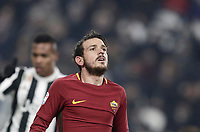 Calcio, Serie A: Juventus - AS Roma, Torino, Allianz Stadium, 23 dicembre, 2017. <br /> Roma's Alessandro Florenzi reacts during the Italian Serie A football match between Juventus and Roma at Torino's Allianz stadium, December 23, 2017.<br /> UPDATE IMAGES PRESS/Isabella Bonotto