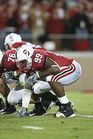 16 September 2006: Levirt Griffin during Stanford's 37-9 loss to Navy during the grand opening of the new Stanford Stadium in Stanford, CA.