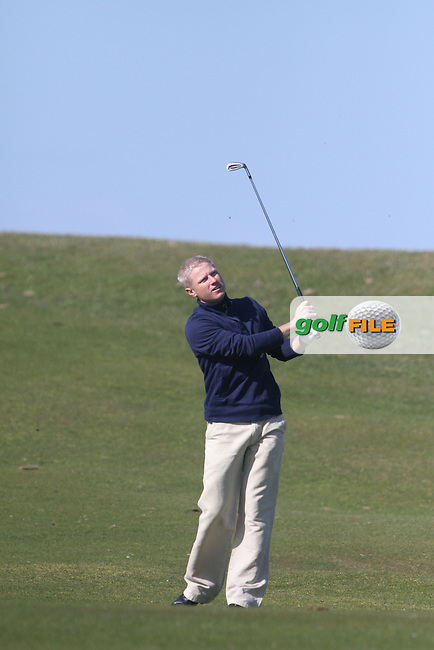 Ronan Flood (Hermitage) during the Hilary Golf Society Outing at Sutton Golf Course...(Photo Jenny Matthews/www.golffile.ie)