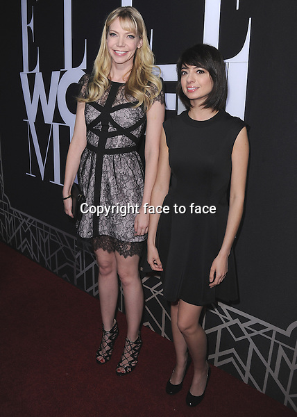 HOLLYWOOD, CA - APRIL 22: Riki Lindhome and Kate Micucci at ELLE 5th Annual Women in Music at Avalon on April 22, 2014 in Hollywood, California.PGSK/MediaPunch<br /> Credit: MediaPunch/face to face<br /> - Germany, Austria, Switzerland, Eastern Europe, Australia, UK, USA, Taiwan, Singapore, China, Malaysia, Thailand, Sweden, Estonia, Latvia and Lithuania rights only -