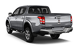 Car pictures of rear three quarter view of 2017 Fiat Fullback Pack-Lusso 4 Door Pickup Angular Rear