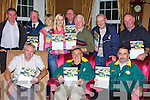 DRAW: Getting the Kerry Supporters Club Monster draw ready in Ballygarry House Hotel, Tralee on Thursday night were front l-r: John King, Donie O'Leary and Martin Leane. Back l-r: John O'Connell, Gerry Savage, Leanne Ryan, Niamh Dempsey, Ger Jennings, Jim Shanahan, Noel O'Connor and JJ Sugrue.   Copyright Kerry's Eye 2008