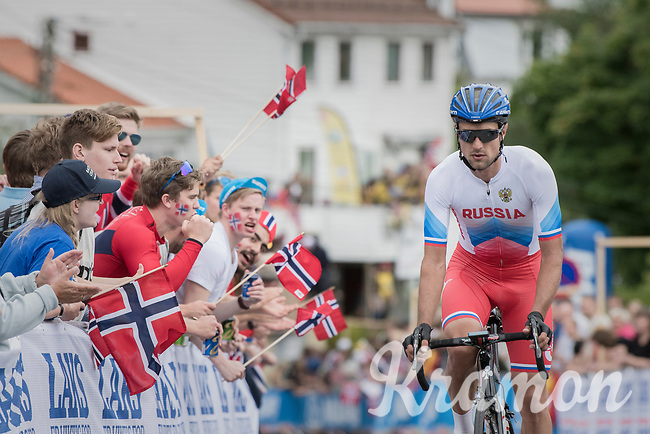 up Salmon Hill<br /> <br /> Men Elite Road Race<br /> <br /> UCI 2017 Road World Championships - Bergen/Norway