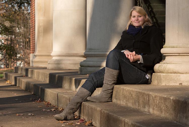 Sarah Hinkelman. © Ohio University / Photo by Lauren Pond
