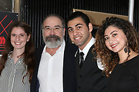 LOS ANGELES - FEB 12:  Guest 1, Mandy Patinkin, Taha Khshali, Guest 2 at the Mandy Patinkin Star Ceremony on the Hollywood Walk of Fame on February 12, 2018 in Los Angeles, CA