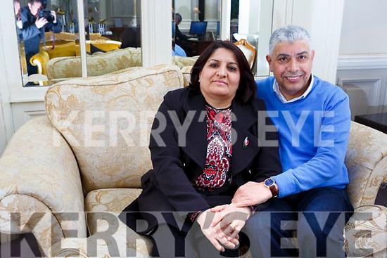 Huda Albayati and her husband Karim Almusawi