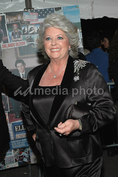 10 October 2005 - New York, New York -  Paula Deen of The Food Network arrives at the premiere of the new film, &quot;Elizabethtown&quot;, at the Loews Lincoln Square Theater in Manhattan.   <br />