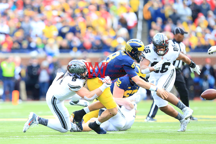 The Ohio State University football team defeat that team up north 31-20. Ann Arbor, MI. November 25, 2017