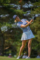 Michelle Wie (USA) watches her tee shot on 3 during round 3 of the 2018 KPMG Women's PGA Championship, Kemper Lakes Golf Club, at Kildeer, Illinois, USA. 6/30/2018.<br /> Picture: Golffile | Ken Murray<br /> <br /> All photo usage must carry mandatory copyright credit (&copy; Golffile | Ken Murray)