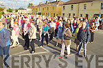The Corpus Christi Procession arriving at Mitchells court on Saturday evening.