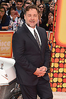 Russell Crowe<br /> arrives for the premiere of &quot;The Nice Guys&quot; at the Odeon Leicester Square, London.<br /> <br /> <br /> &copy;Ash Knotek  D3120  19/05/2016