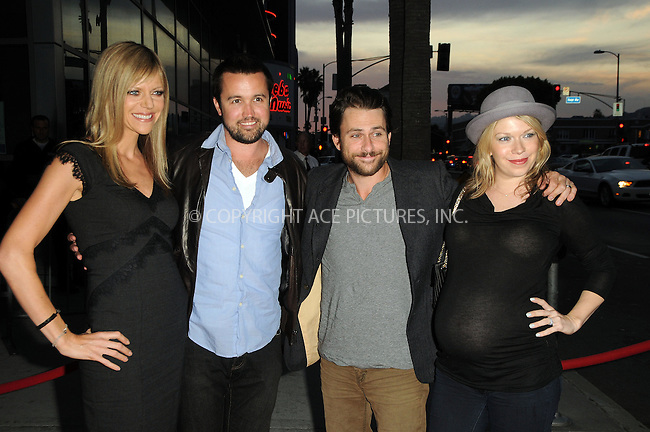 WWW.ACEPIXS.COM . . . . .  ....September 13 2011, New york City....(L-R) Kaitlin Olson , Rob McElhenney, Charlie Day and Mary Elizabeth Ellis arriving at the FX Premiere for 'It's Always Sunny In Philadelphia' and 'The League' at ArcLight Cinemas Cinerama Dome on September 13, 2011 in Hollywood, California.....Please byline: PETER WEST - ACE PICTURES.... *** ***..Ace Pictures, Inc:  ..Philip Vaughan (212) 243-8787 or (646) 679 0430..e-mail: info@acepixs.com..web: http://www.acepixs.com