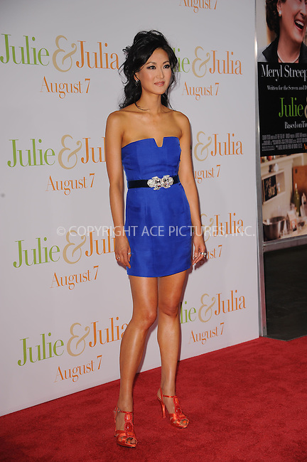 WWW.ACEPIXS.COM . . . . . ....July 30 2009, New York City....Television personality Kelly Choi arriving at the 'Julie & Julia' premiere at the Ziegfeld Theatre on July 30, 2009 in New York City. ....Please byline: KRISTIN CALLAHAN - ACEPIXS.COM.. . . . . . ..Ace Pictures, Inc:  ..tel: (212) 243 8787 or (646) 769 0430..e-mail: info@acepixs.com..web: http://www.acepixs.com