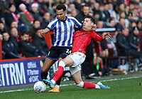 Jacob Murphy of Sheffield Wednesday tackled by James Vennings of Charlton Athletic during Charlton Athletic vs Sheffield Wednesday, Sky Bet EFL Championship Football at The Valley on 30th November 2019