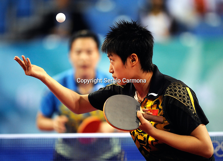Olympic Games 2008; Table Tennis.